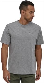 Patagonia P-6 Logo Responsibili-tee T-Shirt, S Grey Heather