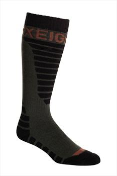 686 Adult Unisex Strike Sock 3-Pack Ski/Snowboard Socks One Size Multi
