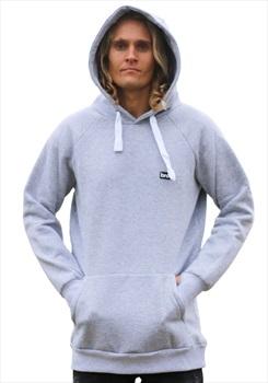 bro! Park Edition Unisex Ski/Snowboard Hoodie, L Grey