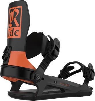 Ride C-6 Snowboard Bindings, M Orange 2021