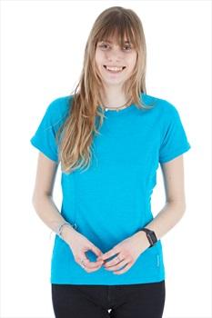 Montane Dart Women's Technical Crew T-shirt, UK 10 Blue Ridge
