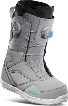 thirtytwo STW Double Boa Women's Snowboard Boots, UK 7.5 Grey 2021