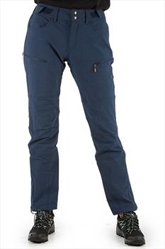 Norrona Svalbard Flex1 Pants Women's Hiking Trousers, M Indigo Night