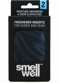 SmellWell Active Insert Pouch Odor Eliminator, One Size Black Zebra