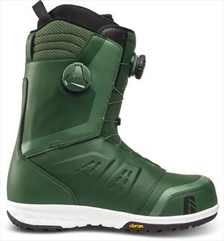 Nidecker Helios Focus Boa Snowboard Boots, UK 10.5 Green 2021