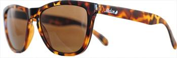 Melon Layback Amber Polarized Sunglasses, Tortoise