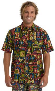 Burton Shabooya Camp Short Sleeve Shirt, S Outland
