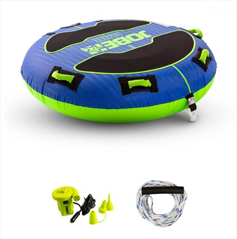 Jobe Breeze Towable Tube Package, 1 Rider Blue Green 2020