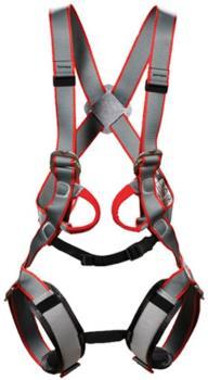 DMM Tom Kitten Kids Full Body Harness, One Size Grey/Red