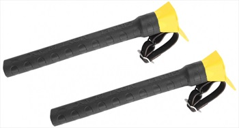 Grivel Espresso Ice Screw Carrier and Protector, Black/Yellow