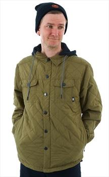Saga Workwear Ski/Snowboard Insulated Jacket, XXL Olive