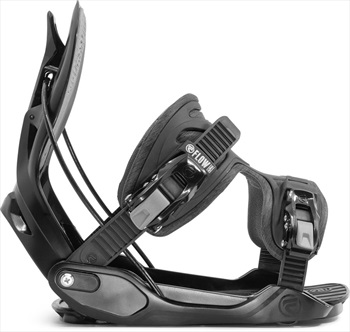 Flow Alpha ExoFit Snowboard Bindings, L Black 2020