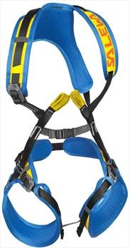 Salewa Rookie FB Kid's Full Body Harness, 40kg, Blue/Yellow