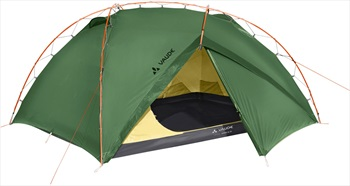 Vaude Invenio UL Ultralight Backpacking Tent, 2 Man Green