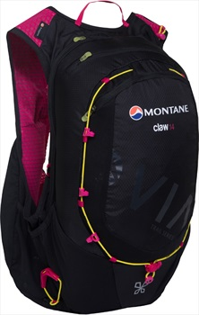 Montane VIA Claw 14 Trail Running Women's Vest Backpack, 14L Black