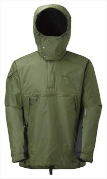 Montane Adult Unisex Extreme Smock Pullover Hiking Jacket, M Olive