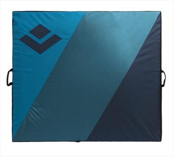 Black Diamond Drop Zone Bouldering Crash Pad, 104x122x9cm Black/Blue