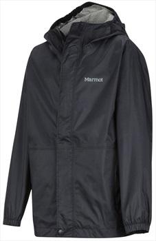 Marmot PreCip Eco Boy's Waterproof Jacket, S Black