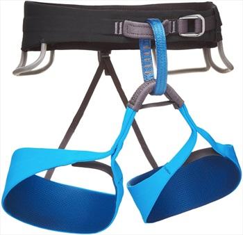Black Diamond Solution Rock Climbing Harness, XS Ultra Blue