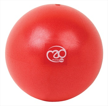 "Pilates Mad Exer-Soft Pilates Exercise Ball, 9"" Red"