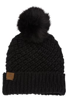Coal The Maizy Women's Beanie/Bobble Hat, One Size Black