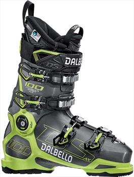 Dalbello DS AX 100 Ski Boots, 26.5 Anthracite/Acid Yellow 2020