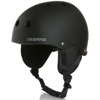 Liquid Force FLASH Wakeboard Helmet, XS Blackout 2021