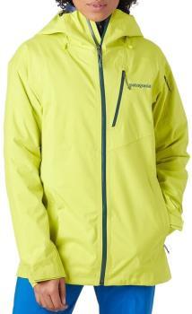 Patagonia SnowDrifter Women's Snowboard/Ski Jacket, S Chartreuse
