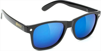 Glassy Sunhaters Leonard Sunglasses, Black/Blue