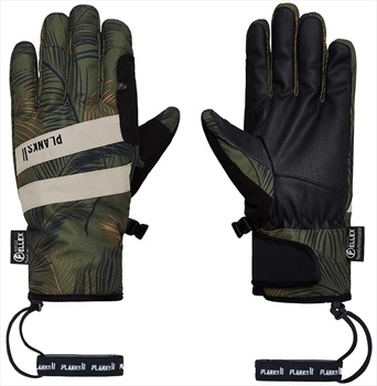 Planks Peacemaker Insulated Ski/Snowboard Gloves, XL Jungle Palm