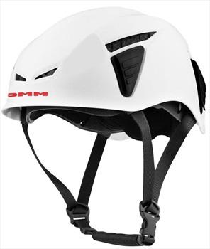DMM Adult Unisex Coron Id Rock Climbing Helmet, 54-62cm White