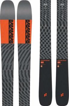 K2 Mindbender 90Ti Ski Only Skis, 184cm Grey/Red 2022
