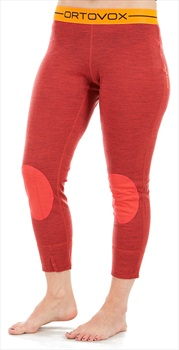 Ortovox Womens Rock'N'Wool Short Women's Thermal Pants, Xs Hot Coral Blend