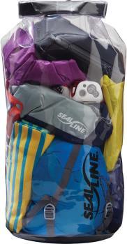 SealLine Baja View Dry Bag Waterproof Kit Pack Sack, 20L Clear