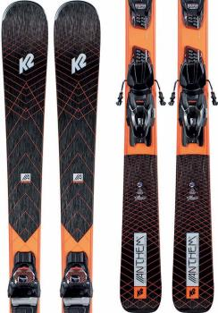 K2 Anthem 78 Marker ER3 10 Women's Skis, 160cm Black/Orange 2021