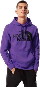 North Face Surgent Halfdome Pullover Climbing Hoodie, S Peak Purple