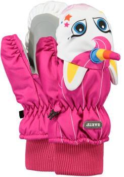 Barts 3D Nylon Kids Ski/Snowboard Mitts, Ages 2-3 Fuchsia