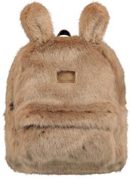 Barts Kajana Faux Fur Casual Backpack, 15L Light Brown