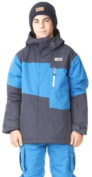 Picture Milo Kid's Ski/Snowboard Jacket, Age 8 Dark Blue