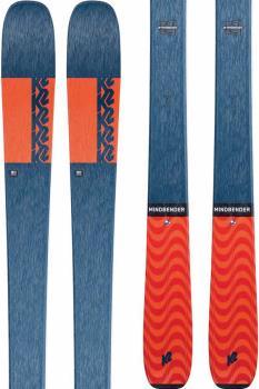 K2 Mindbender 90C Skis, 170cm Blue/Orange, Ski Only, 2021