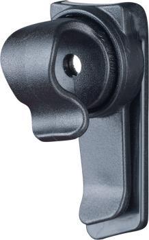 Evoc Magnetic Hydration System Tube Clip, Black