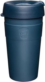 KeepCup Thermal Insulated Reusable Tea/Coffee Cup, 454ml/16oz Spruce