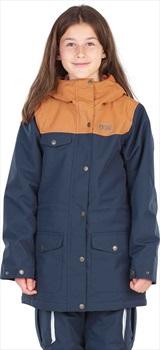 Picture Maelle Childrens Ski/Snowboard Jacket, L Dark Blue