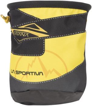 La Sportiva Katana Climbing Chalk Bag, One Size Yellow/Black