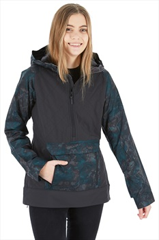 Dakine Pollox Softshell Women's Ski/Snowboard Jacket, XS Black/Madison