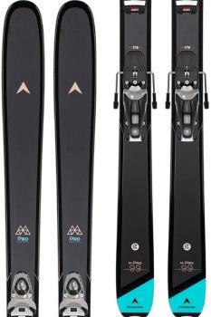 Dynastar M-Pro 90 W NX 11 GW Women's Skis, 154cm Black/Blue