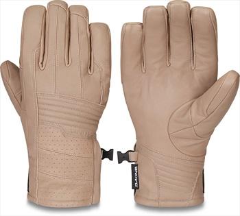 Dakine Phantom Leather Gore-Tex Snowboard/Ski Gloves, M Stone