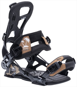 SP Adult Unisex Brotherhood Snowboard Bindings, L Black 2020