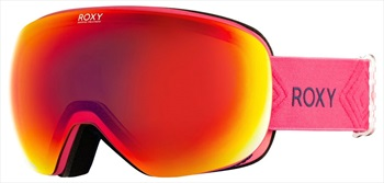 Roxy Popscreen ML Infrared Women's Ski/Snowboard Goggles, M/L Beetroot