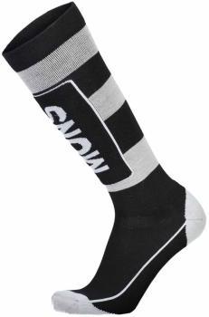 Mons Royale Mons Tech Cushion Men's Ski/Snowboard Socks M Black/Grey